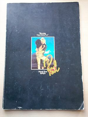 Blondes Have More Fun World Tour 1978-79 Programme
