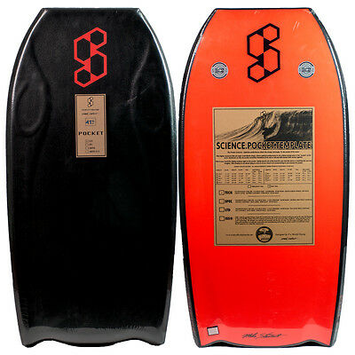 "Science Pocket Tech Bat tail PE 42.5"" Bodyboard"