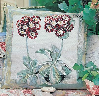 EHRMAN AURICULA needlepoint tapestry kit Magie Hollingworth discontinued