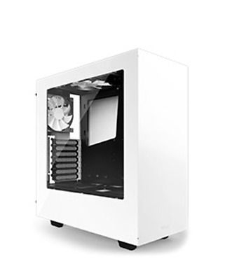 NEW NZXT S340 Mid Tower Case White