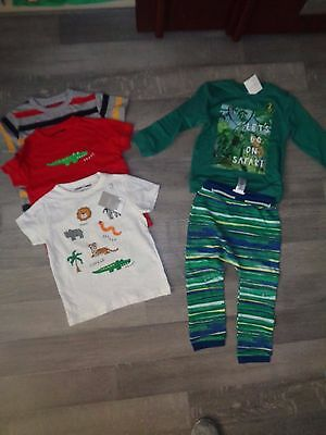 baby boy Next summer safari jungle tops tracksuit joggers jumper NEW 18-24