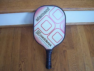 Paddletek Element Pickleball Paddle-Red