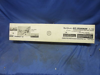 Ziroli's R/c Stearman Sport Scale 3 In 1, New In Box