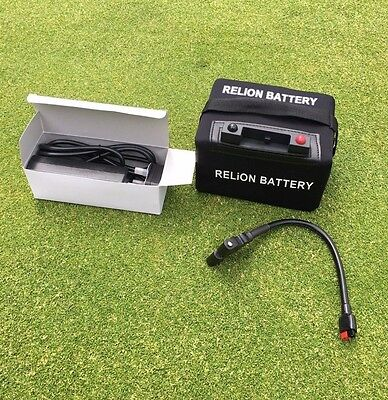 RELiON 36 Hole Lithium Golf Trolley Battery
