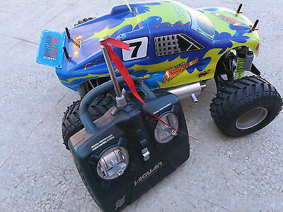 Monster Truck a Scoppio Thunder Tiger SSK V1 1/10 2,5cc 4WD