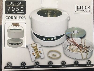 James Products Ultra 7050 Ultrasonic Cleaner Cordless