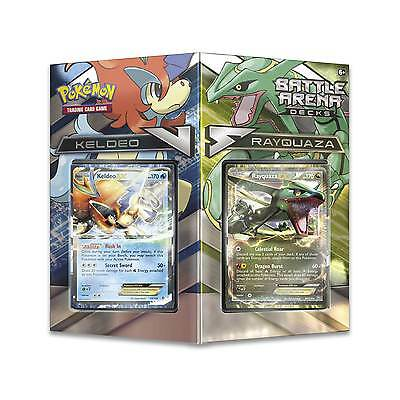 Pokemon TCG Battle Arena Decks: Rayquaza vs Keldeo