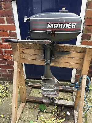 Mariner 3.3hp Outboard Engine 2-stroke LONG SHAFT AUXILLARY