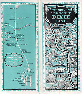 Nashville Chattanooga & St Louis RY NC&STLRY Brochure October 31 1928