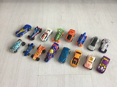 Job Lot Mattel Hot Wheels Diecast Cars Some Vintage Bundle