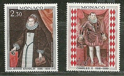 MONACO 1968 Very Fine MNH OG  Stamps Scott # 710-711
