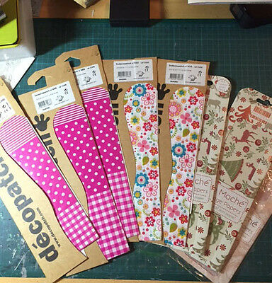 8 x Mixed Decopatch Papers All Brand New