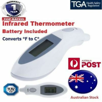 Digital Infrared Ear Thermometer Cover Free Case for Baby Adults