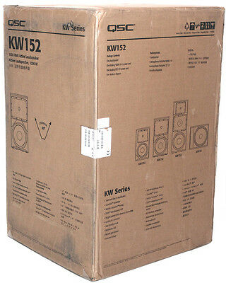 "QSC KW152 15"" 2-Way Active Powered Speaker"