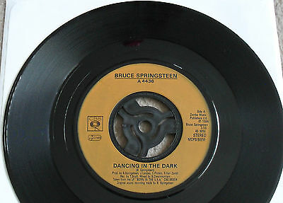 BRUCE SPRINGSTEEN - DANCING IN THE DARK vinyl single record - VGC