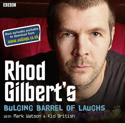 Rhod Gilbert,s--Bulging Barrel Of Laughs -- Cd Audio Book New Sealed