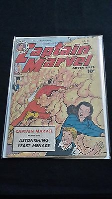 Captain Marvel Adventures #75 - Fawcett Comic - August 1947 - 1st Print