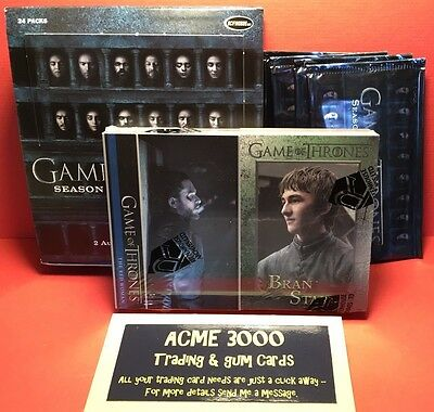 Rittenhouse - Game of Thrones Season 6 -BASIC Base 100 Card SET + Box & 4x Packs