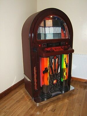 beautiful americana bubbler full size jukebox stunning very reluctant sale