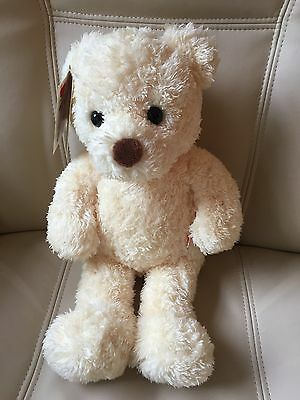 Chad Valley Cream Design A Bear Soft Toy Teddy Beige