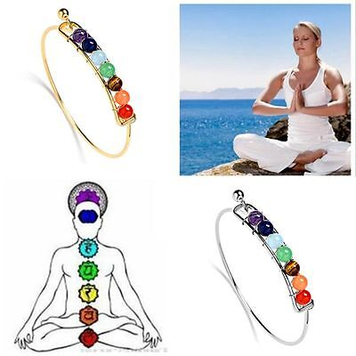 Life Energy New Jewelry Yoga Bracelet Healing Balance Beads 7 Chakra