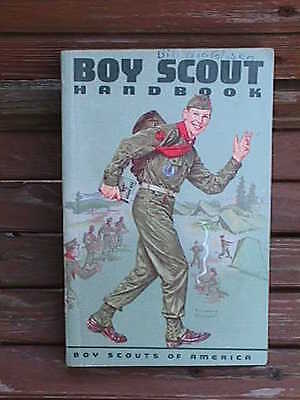 1961 BOY SCOUT Handbook Norman Rockwell Cover COMPLETE 6th Edition 478 page BOOK