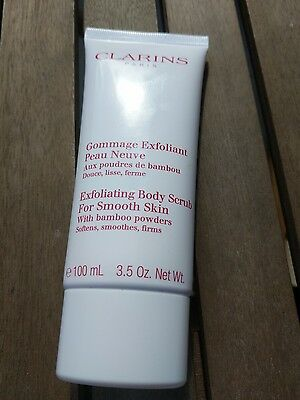 Clarins Exfoliating body scrub for smooth skin 100ml brand new and sealed