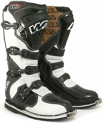 Motocross Mx Enduro Adventure Boots (SIZE 12) W2 Fox Sidi Half Price