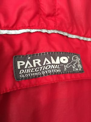 PARAMO VELEZ LIGHT JACKET/SMOCK IN RARE SPORTY RED - Save Over £100 On New