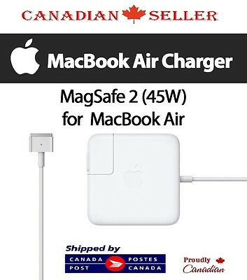 Genuine Original Adapter Charger For Apple Macbook Air 45W MagSafe2 - Free Ship