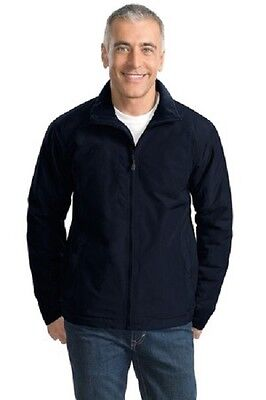 SALE M Challenger Nylon Jacket Embroidered Free4Ur Company W BackDesign & Front