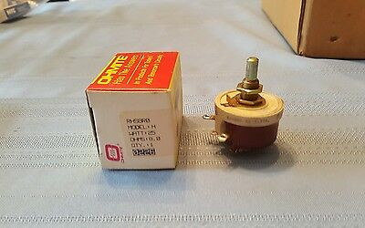 Brand New Ohmite RhS8R0E Rheostat Wirewound 8 Ohm 25W NEW OLD STOCK