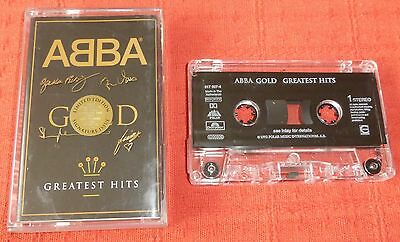 Abba - Chrome Cassette Tape - Gold - Greatest Hits - Signature Case (Best Of)