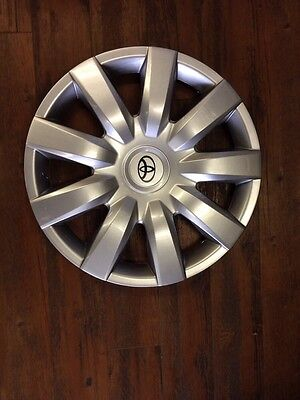 """4- New 2003 2004 2005 Toyota Echo Hub Caps Wheel Cover 15"""" Hubcap Wheelcover"""