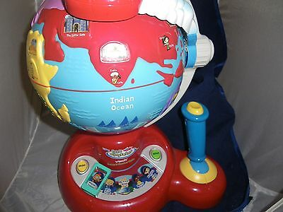 Disney Little Einsteins VTECH Learn & Discover Globe Learning Toy Works GREAT!