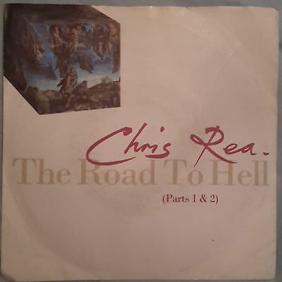 Chris Rea The Road to Hell (Parts 1 & 2) 1989 vinyl single 7 inch 45rpm YZ 431X