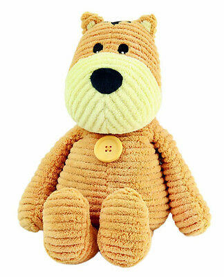 Intelex Beany Belly Corduroy Cat Microwaveable Animal Cuddly Toy