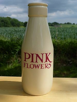 Rare Emma Bridgewater *love & Kisses* 'pink Flowers' Large Milk Bottle Vase New