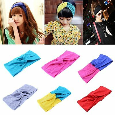 Wowlife Candy Color Women Girls Wash the Face Headbands Headwrap Hair Band Yoga