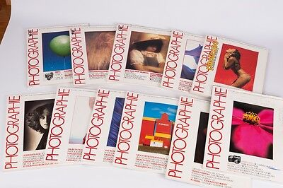 Photographie - 11 magazines of 1978, 79 ,81  German language