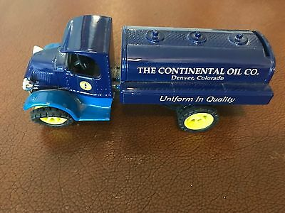 1927 Mack Continental (Conoco) Tanker Locking Coin Bank with Box