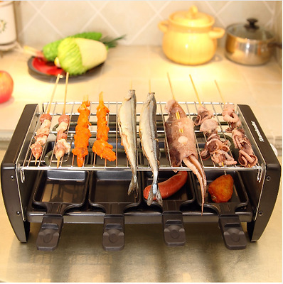 BBQ Electrical Grill Machine Non-slip Mat Barbecue and Smokers