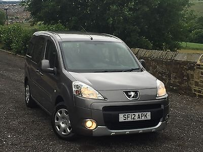 2012/12 Plate Peugeot Partner Tepee 1.6 HDI  Wheelchair Accessible Vehicle WAV