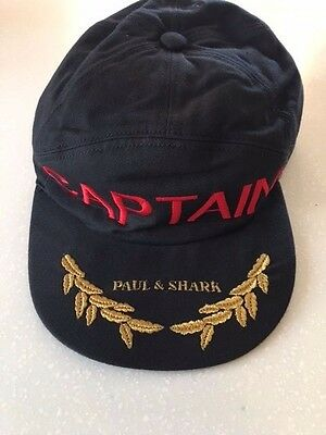 NEW Paul & Shark Yachting Hat Baseball Cap Sailing Cappello Berretto Size M XXL