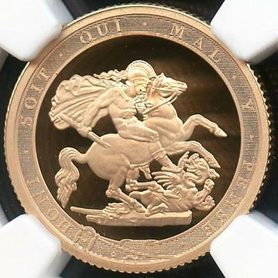2017 Pistrucci £1 Gold Proof 200th Anniversary Full Sovereign Coin NGC PF70 UC