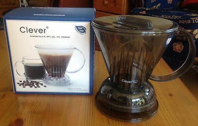 Coffee Dripper Bundle- Clever Coffee dripper, Hario V60 Drip scale, SS Kettle...