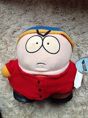 "Large 11"" South Park Cartman Plush 1998 Downpace Comedy Central with Tags"