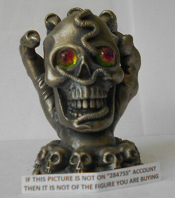 Myth And Magic - Keeper Of The Skulls Figure By Tudor Mint Rare