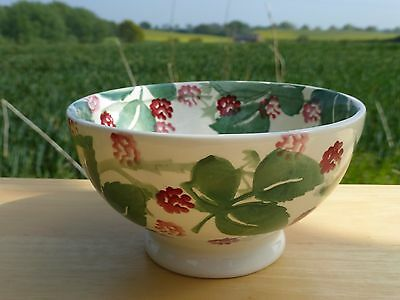 Emma Bridgewater for Wiveton Hall Spongeware *Raspberry* French Bowl - New, 1st.