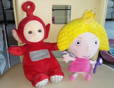 Teletubbies Po & Princess Holly Holly's Little Kingdom Plush Toys